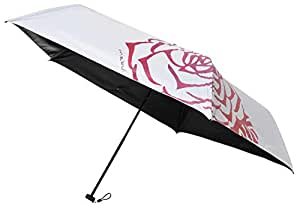 マブ(Mabu) 日傘 ローズ 晴雨兼用 折りたたみ傘 99.9% SMV-40552