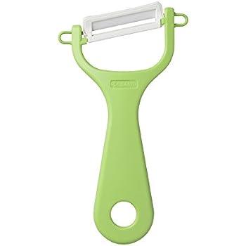 京セラ(Kyocera) セラミック ピーラー 皮むき器 錆びない 除菌漂白対応 グリーン 15.5cm 切れ味長持ち CP-NA08GR