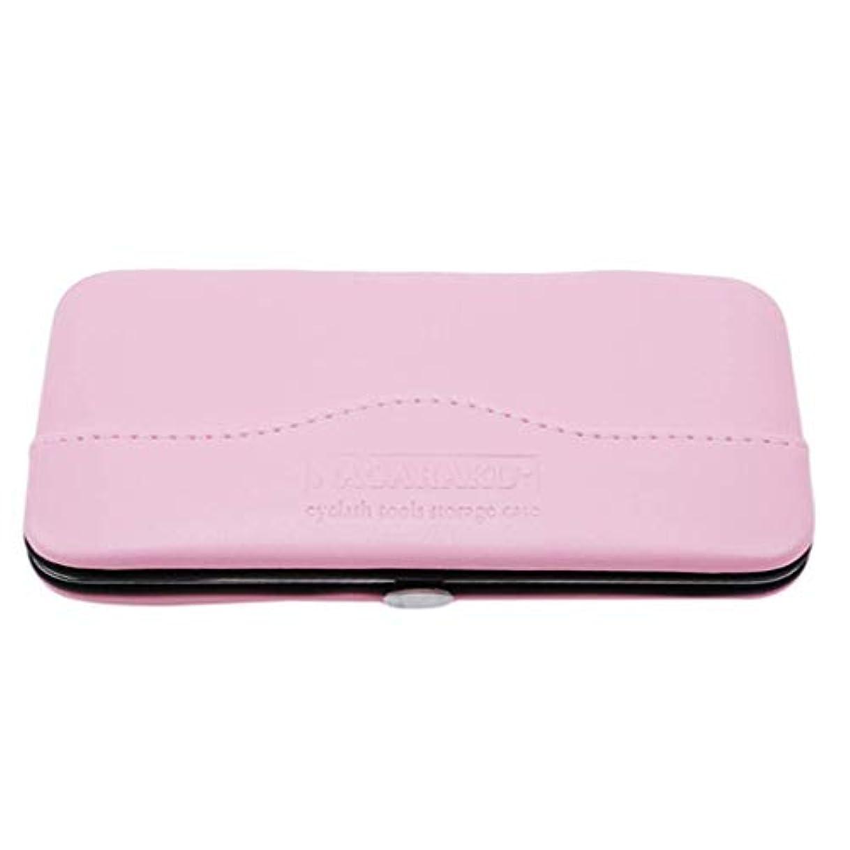 アフリカ卑しい署名1st market プレミアム品質1ピース化粧道具バッグ用まつげエクステンションピンセット収納ボックスケース