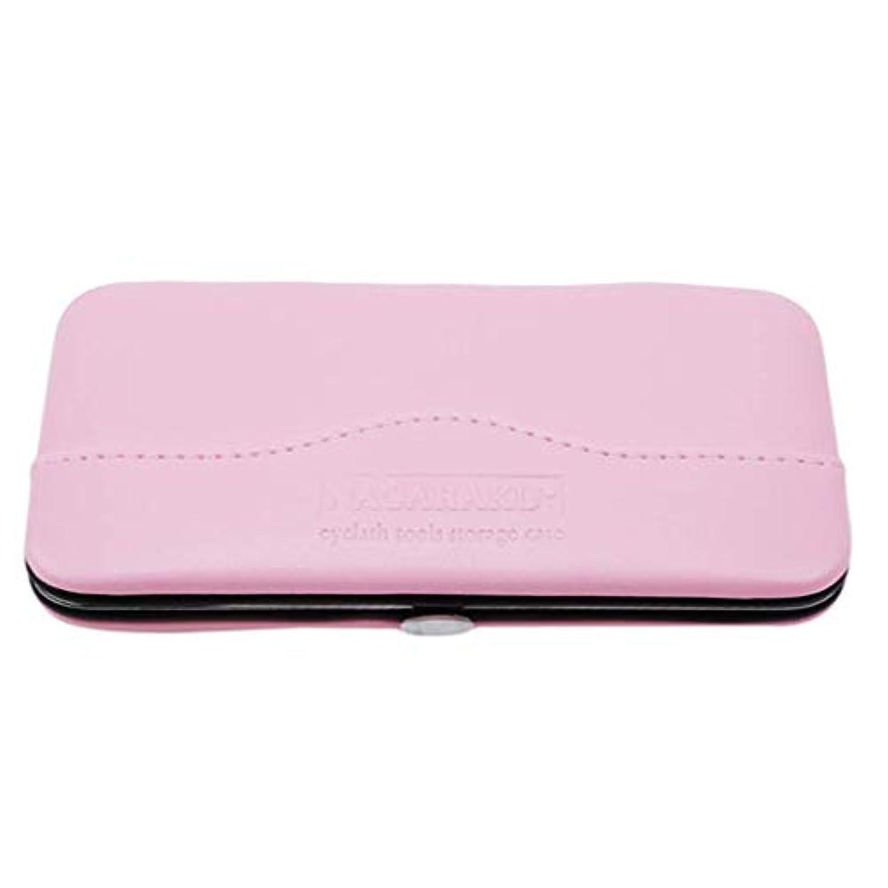 印刷するほぼ優雅1st market プレミアム品質1ピース化粧道具バッグ用まつげエクステンションピンセット収納ボックスケース