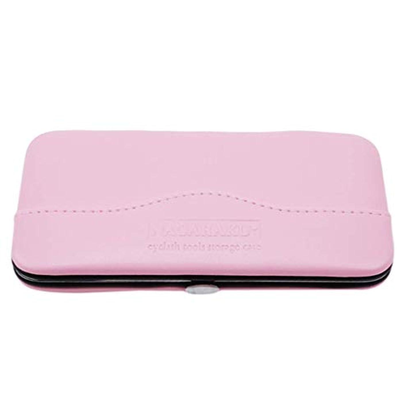 人質率直な形状1st market プレミアム品質1ピース化粧道具バッグ用まつげエクステンションピンセット収納ボックスケース
