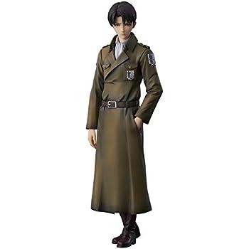 進撃の巨人 リヴァイ coat style ノンスケール PVC&ABS製 塗装済み 完成品フィギュア