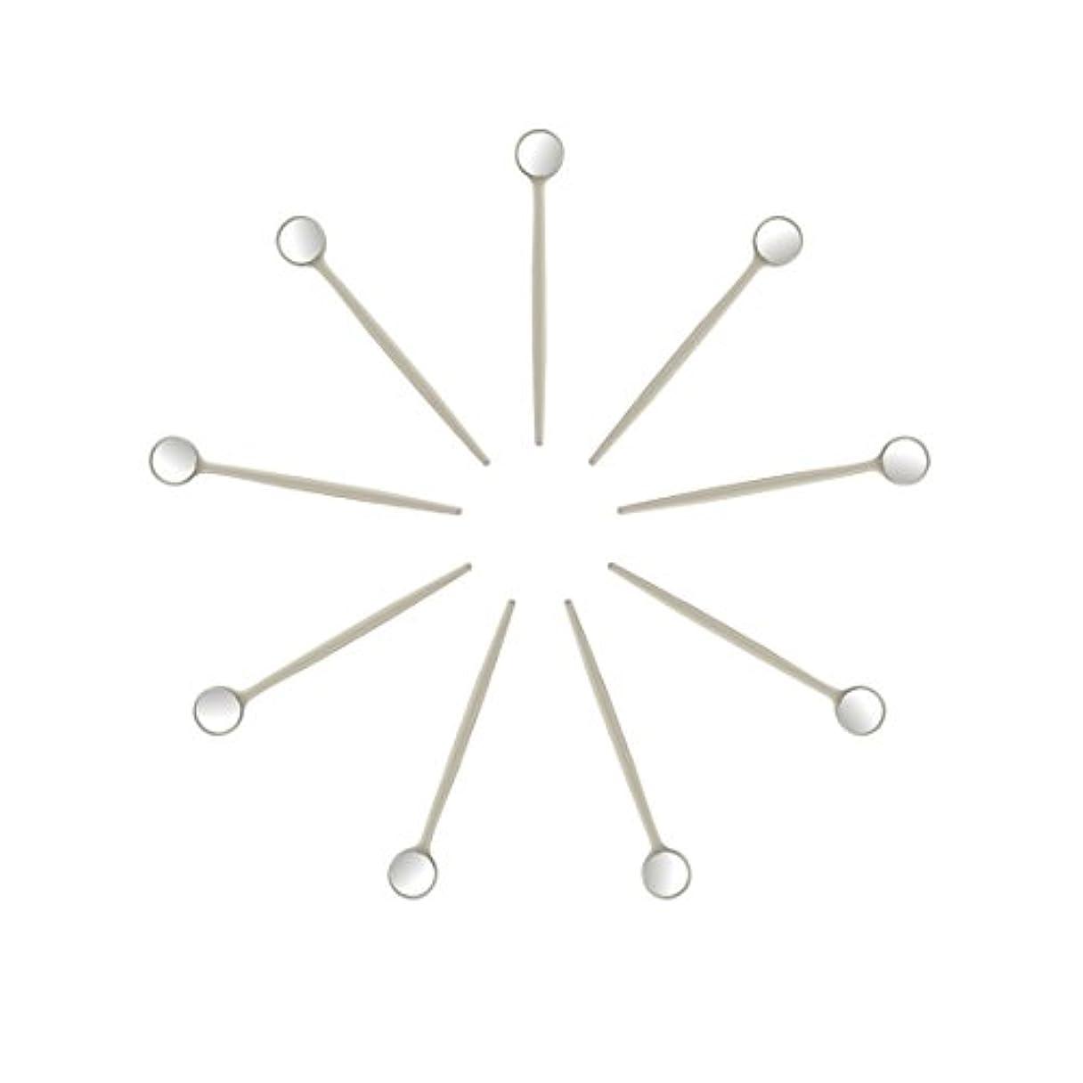 立方体インポート役立つEZGO 100個入無料の保護梱包を備えた歯科口腔鏡、各ミラーを個別に梱包(100個入り)