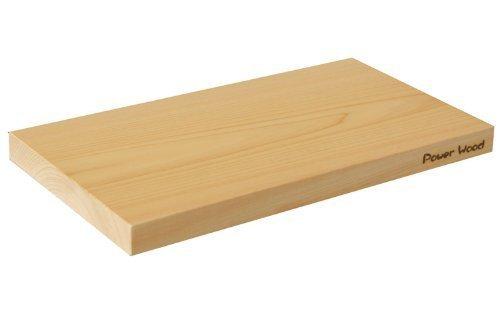 Power of the Wood 国産一枚板 ヒノキのまな板 A型