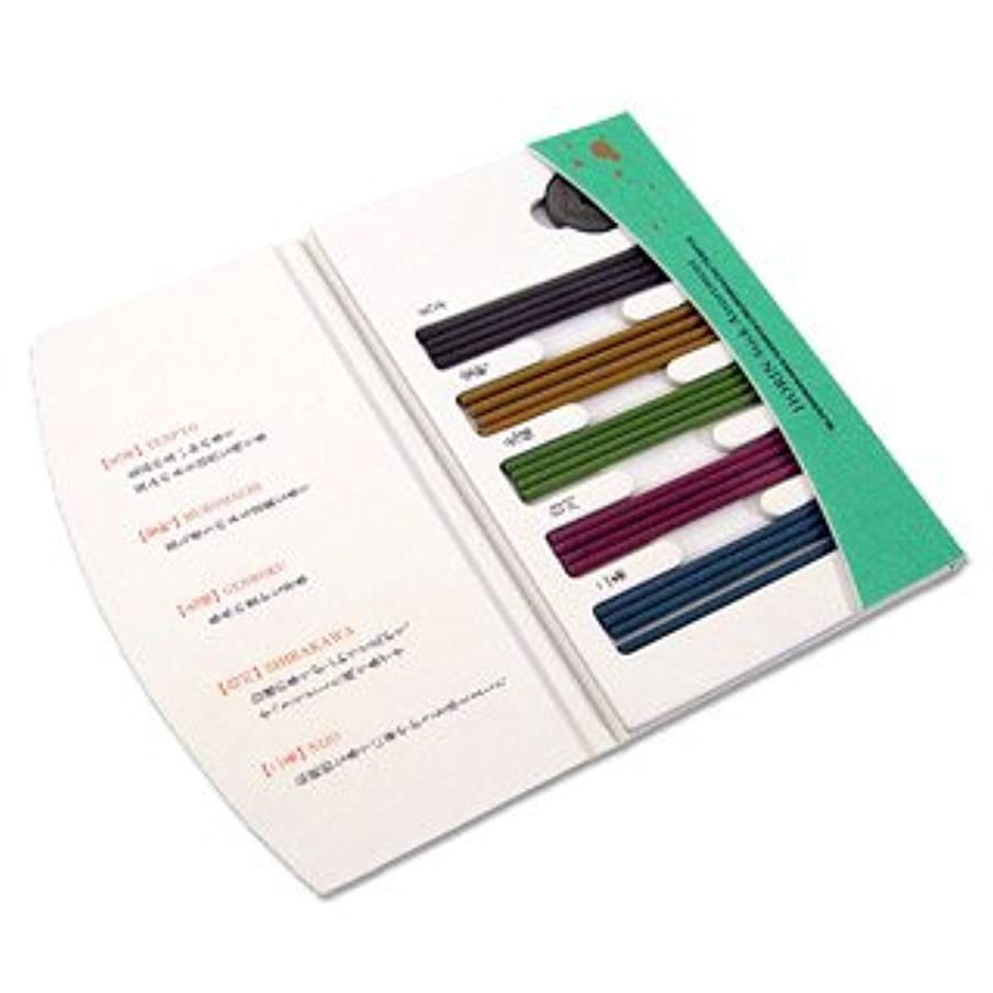 定規従順な倫理Shoyeido's Horin Incense Assortment - 20 Sticks, New.