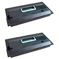 Clearprint tk-710 tk-712互換の2 - Packブラックトナーカートリッジfor Kyocera fs-9130dn、fs-9530dnプリンタ