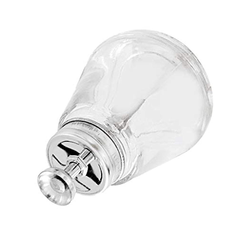 デジタル電気陽性平らにするネイルアートツールボトル ガラス瓶 150mL 蓋付き マニキュアリム用 ネイルケア 空ポンプボトル