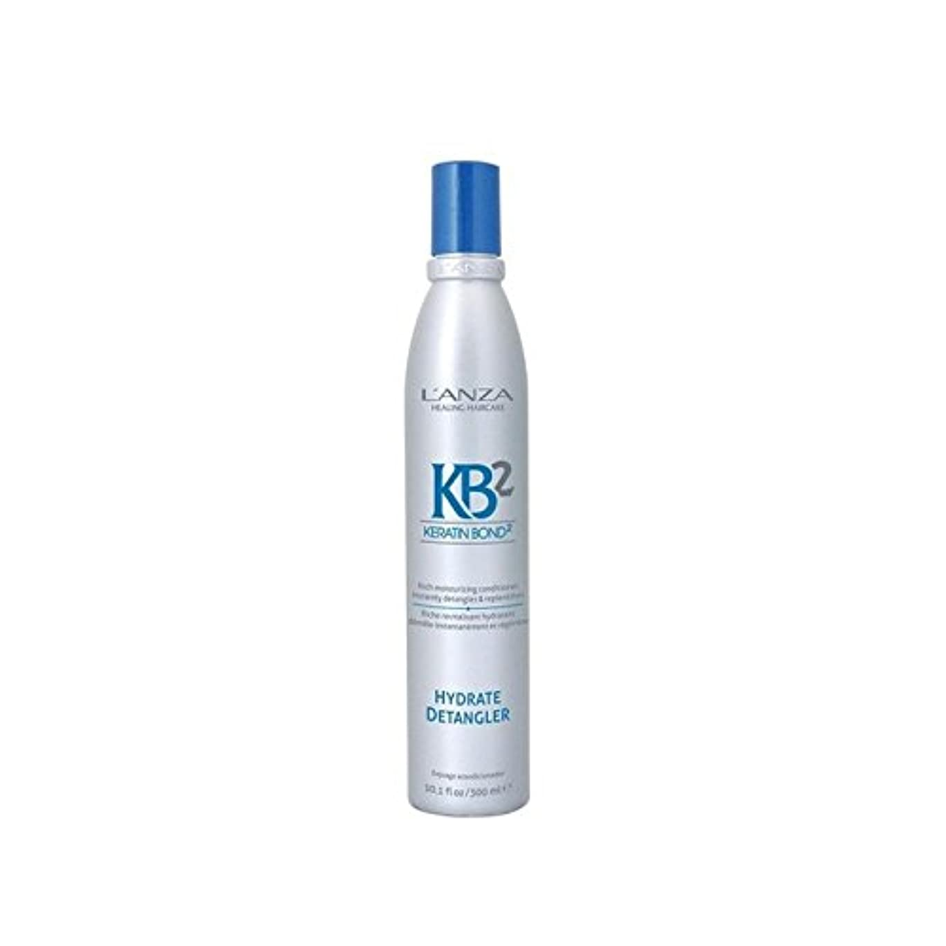 不毛のお注目すべきアンザ2和物(300ミリリットル) x4 - L'Anza Kb2 Hydrate Detangler (300ml) (Pack of 4) [並行輸入品]