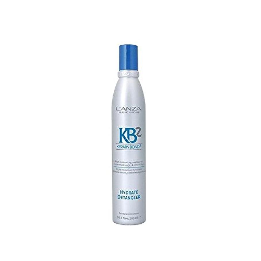 コーナー冗長に賛成アンザ2和物(300ミリリットル) x4 - L'Anza Kb2 Hydrate Detangler (300ml) (Pack of 4) [並行輸入品]