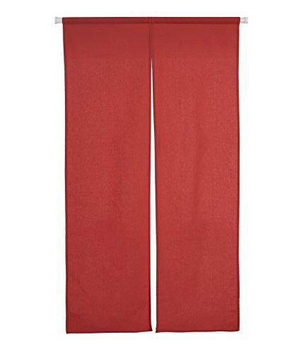 Deconovo のれん 幅72丈150cm レッド 全8色