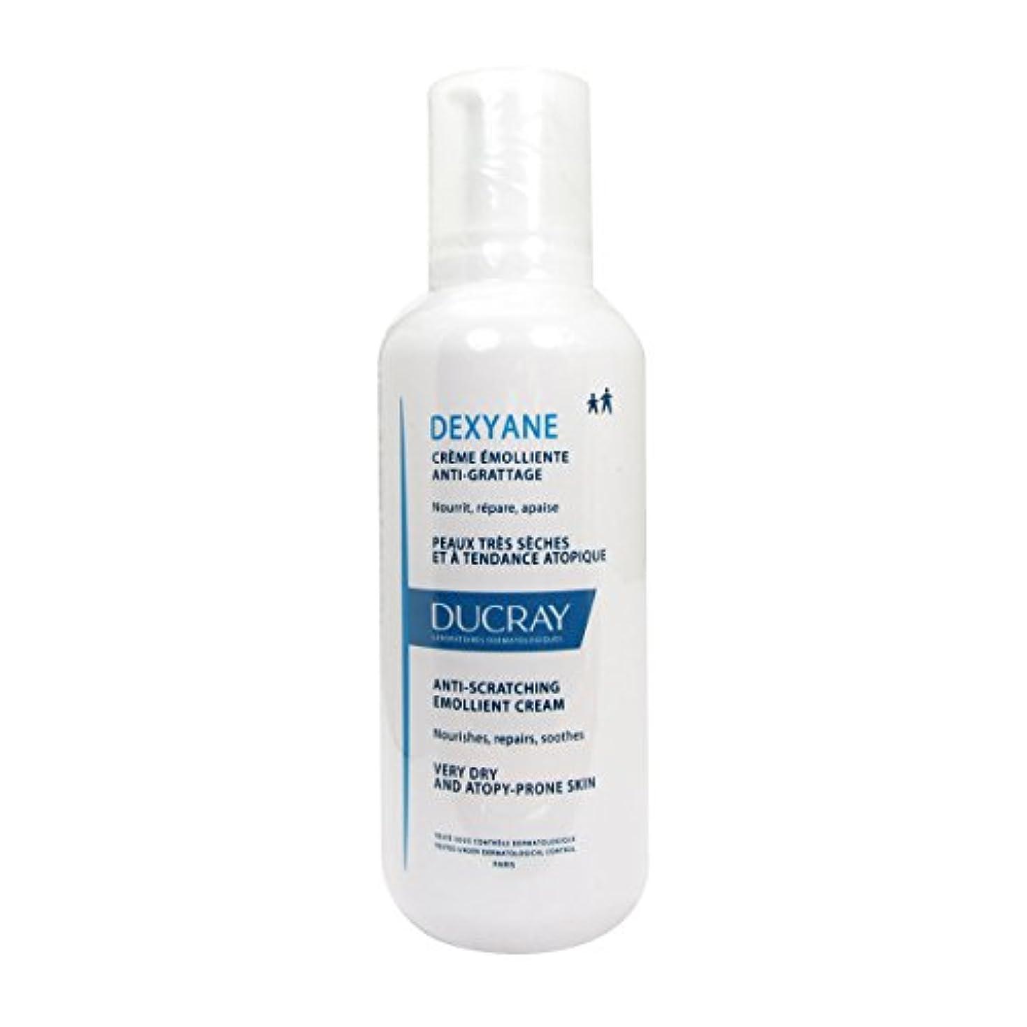 テクニカルそんなに胴体Ducray Dexyane Anti-scratching Emollient Cream 400ml [並行輸入品]