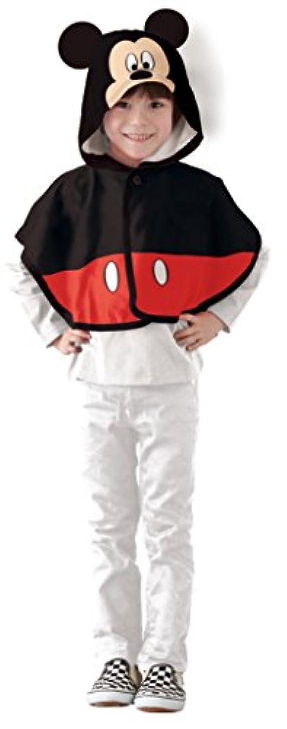 堀自分のれんがディズニーキャラクターズ ミッキーマウス 変身マント キッズコスチューム 男の子 100cm-120cm