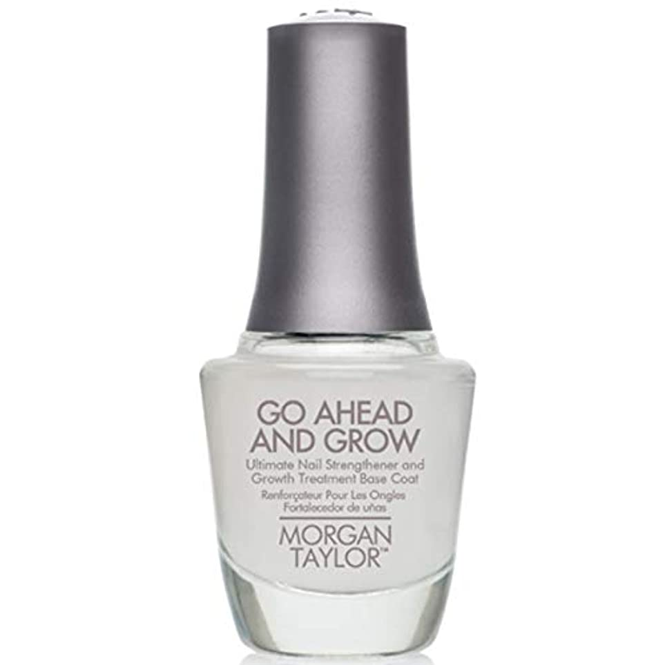回る期間エイリアンMorgan Taylor - Go Ahead And Grow - Fortifying Nail Treatment Base Coat - 15 mL / 0.5oz