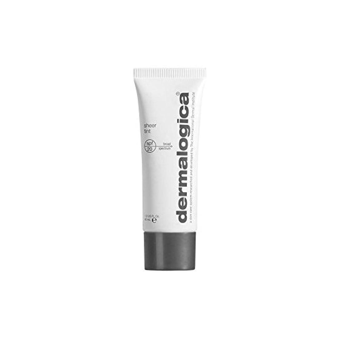 Dermalogica Dark Sheer Tint Moisture (40ml) (Pack of 6) - ダーマロジカ暗い色合い薄手の水分(40ミリリットル) x6 [並行輸入品]