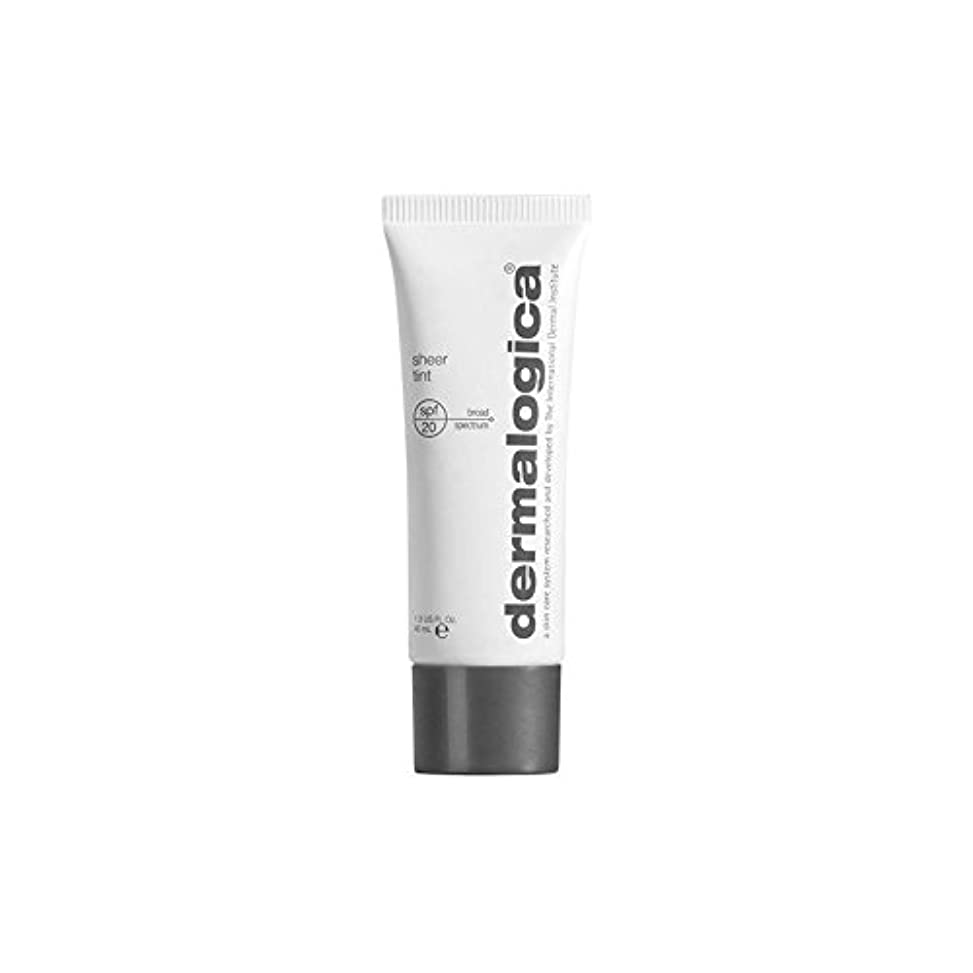 絞るベット文明化Dermalogica Dark Sheer Tint Moisture (40ml) - ダーマロジカ暗い色合い薄手の水分(40ミリリットル) [並行輸入品]