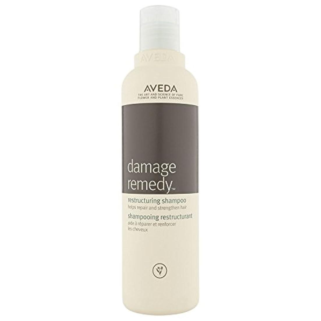 [AVEDA] アヴェダダメージ救済再編シャンプー250ミリリットル - Aveda Damage Remedy Restructuring Shampoo 250 ml [並行輸入品]