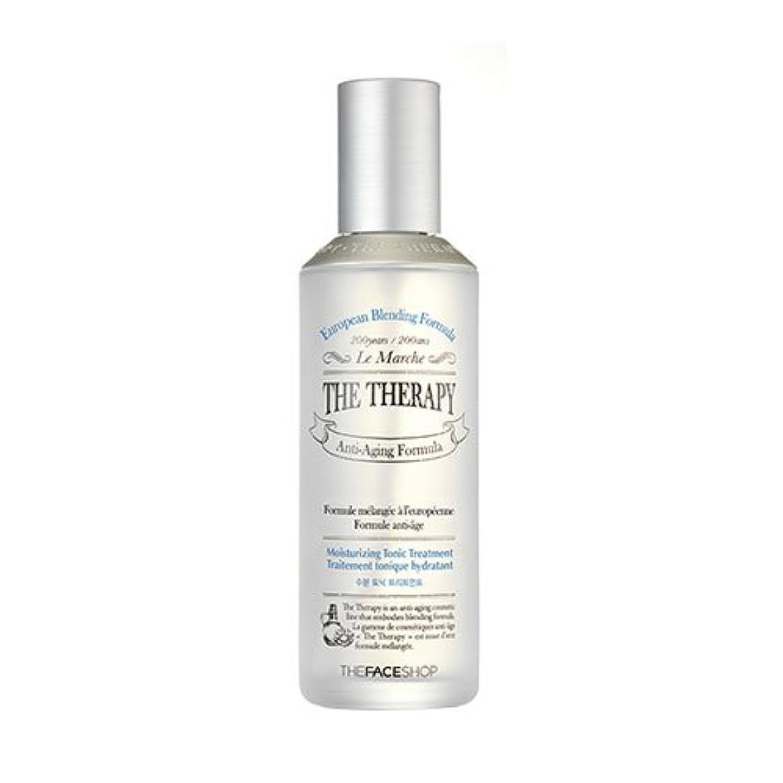 アシスタントレモンスキップTHE FACE SHOP The Therapy Hydrating Tonic Treatment 150ml ザフェイスショップ ザセラピー ハイドレイティング トニックトリートメント [並行輸入品]