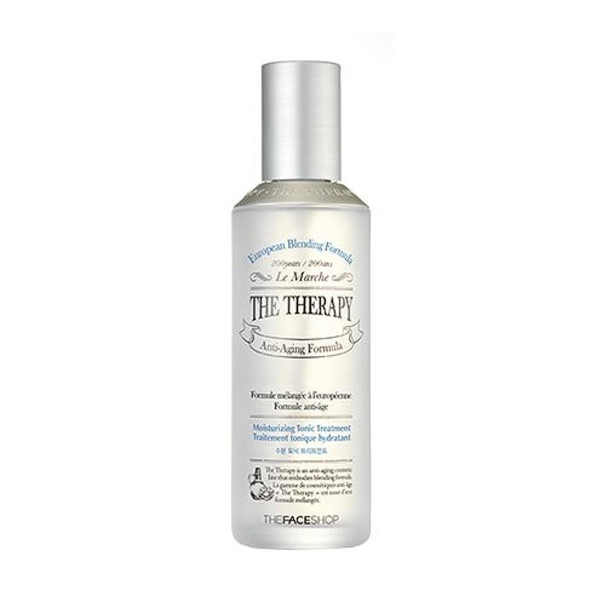 THE FACE SHOP The Therapy Moisturizing Tonic Treatment 150ml/ザフェイスショップ ザ セラピー モイスチャライジング トニック トリートメント 150ml