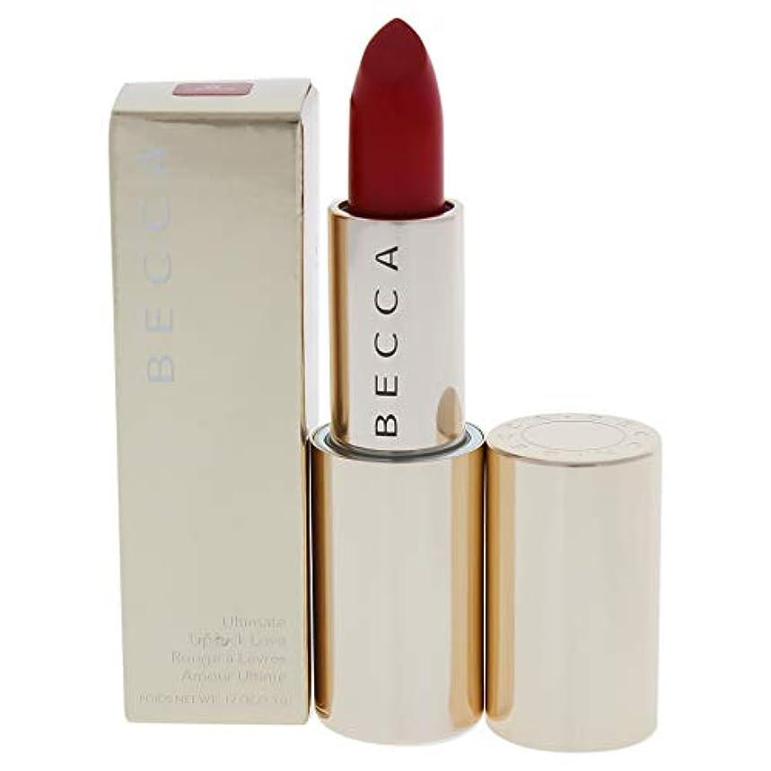 ジョージエリオット市場妊娠したベッカ アルティメイト リップスティック ラブ - # Crimson (Warm Bright Red) 3.3g/0.12oz並行輸入品