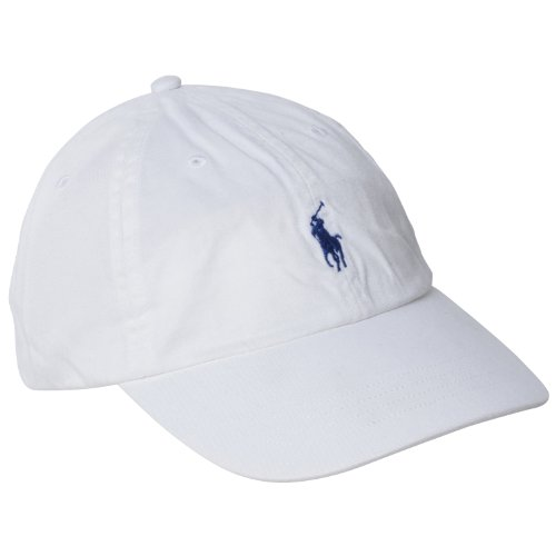 (ポロ・ラルフローレン)Polo Ralph Lauren 並行輸入 Cap Polo Chino Baseball Cap 6516495 White OS