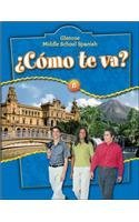 ?C?mo te va? Level B Nivel azul Student Edition (GLENCOE SPANISH) (Spanish Edition)【洋書】 [並行輸入品]