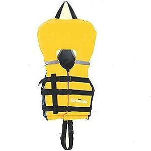 キャプテンスタッグ(CAPTAIN STAG) ライフジャケット シーサイドフローティングエイド幼児用 イエローMC-2554
