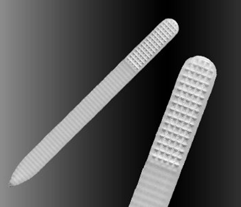【ブラジェク】 ガラス爪やすり プレーン各タイプ (プレーン rasp140mm 両面タイプ(粗目/細目))