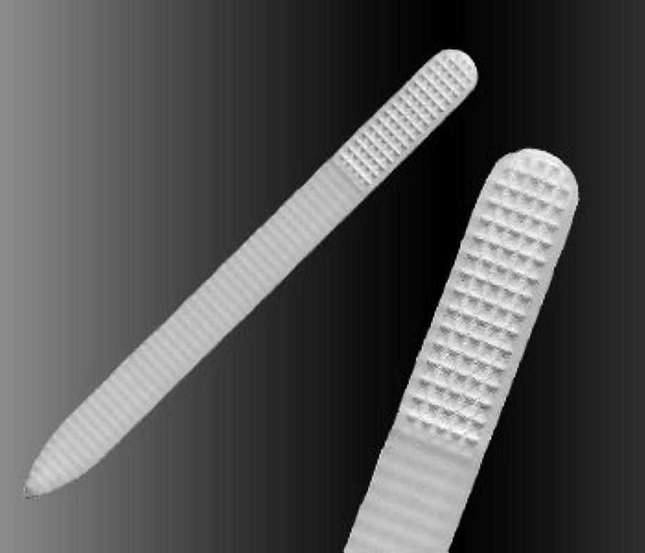 分配します類似性に渡って【ブラジェク】 ガラス爪やすり プレーン各タイプ (プレーン rasp140mm 両面タイプ(粗目/細目))