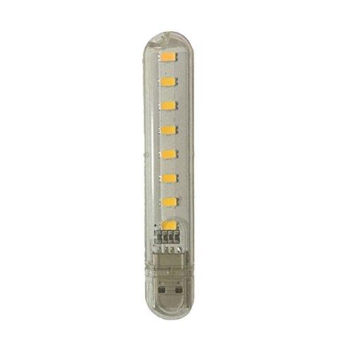 ZhaozheLEDライト USBランプ 夜間 USB 充電...