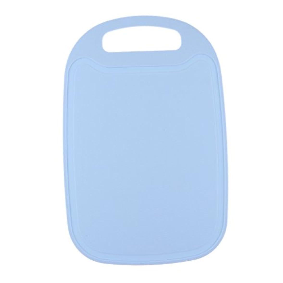 年金受給者あいまいな不利SunniMix プラスチック カッティングボード ポータブル キッチン カッティングマット アウトドア バーベキュー キッチン用品 全4色