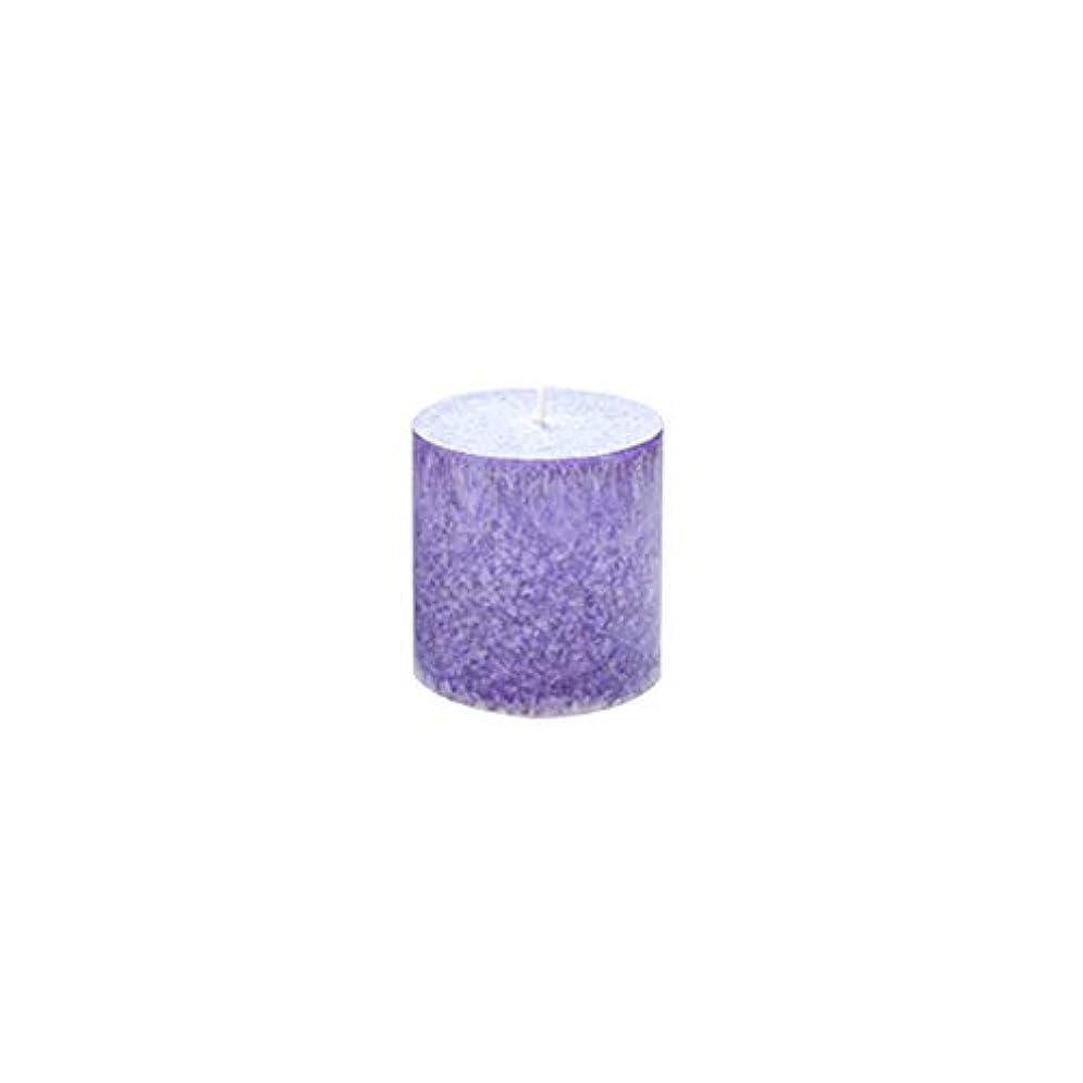 混乱した仲良し広告Rakuby 香料入り 蝋燭 ロマンチック 紫色 ラベンダー アロマ療法 柱 蝋燭 祝祭 結婚祝い 無煙蝋燭