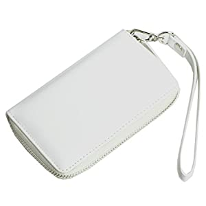 【AWESOME/オーサム】 プルームテック専用ケース カード入れ付き ホワイト PLM-03
