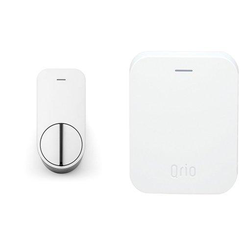 Qrio Smart Lock (キュリオスマートロック) スマートフォンで自宅のドアをキーレス化 Qrio Hubセット(Qrio Smart Lock拡張デバイス) 【Works with Alexa認定製品】
