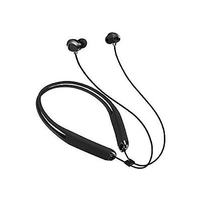 Leophile Eel II Bluetoothネックバンドスポーツヘッドフォンip67防水ワイヤレスポータブルステレオトーンベースヘッドセットW/Mic、耳に、Sweatproof Earbudsソフトシリコンデザインfor Running iPhone LG–ブラック