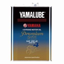 ヤマハ(YAMAHA) 二輪車用エンジンオイル ヤマルーブ プレミアムシンセティック MA 10W-40 4L 90793-32414