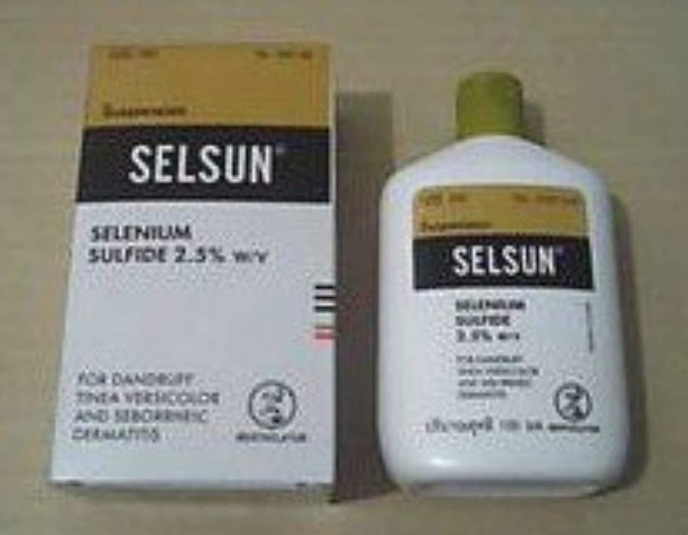 放課後テーマペグSELSUN Anti Dandruff Shampoo SELENIUM SULFIDE 2oz/60ml
