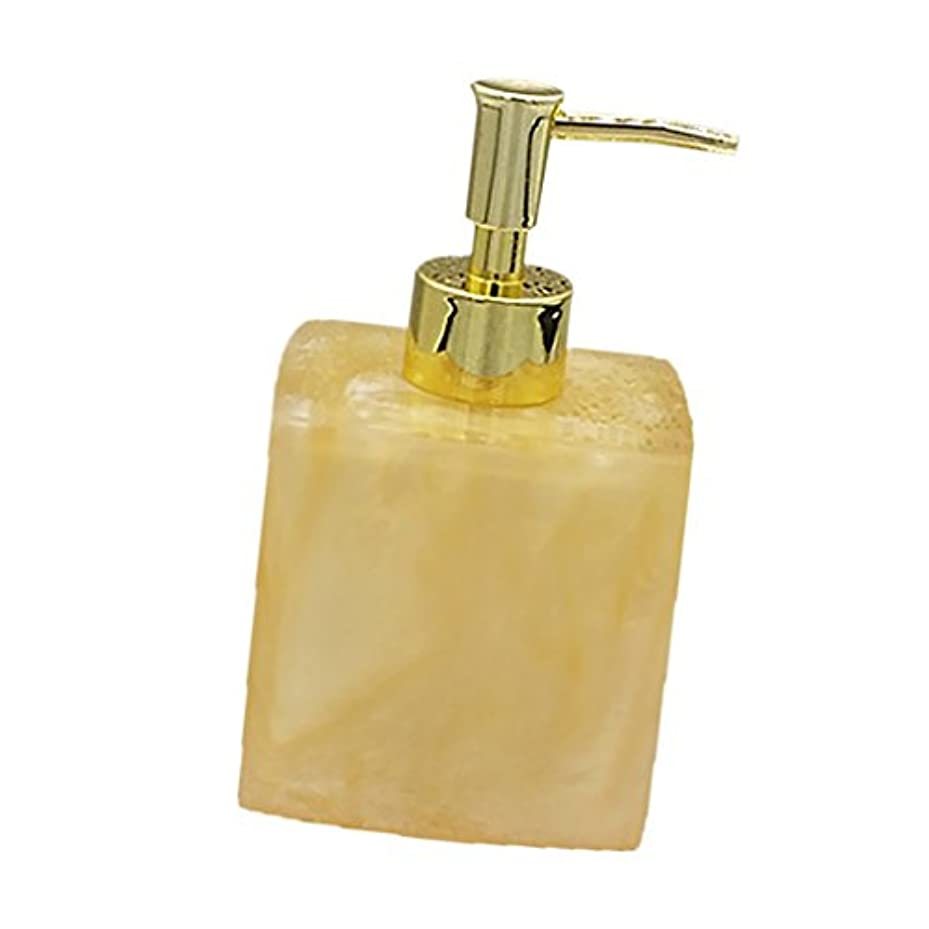 落ち込んでいる部門なだめる(8.5 7.8 15cm, Yellow) - MonkeyJack Resin Soap Shampoo Dispenser Bath Liquid Body Lotion Pump Bottle/Jar VARIOUS...