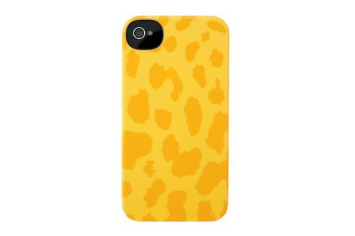 Incase CL59966 Animal Snap Case for iPhone 4 and iPhone 4S Yellow Cheetah [並行輸入品]