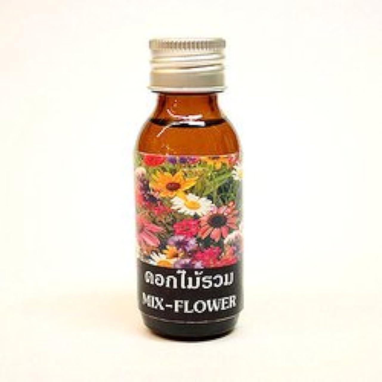 構造的枯れる寛大なミックスフラワー 〔Mix-Flower〕 アロマテラピーオイル 30ml アジアン雑貨