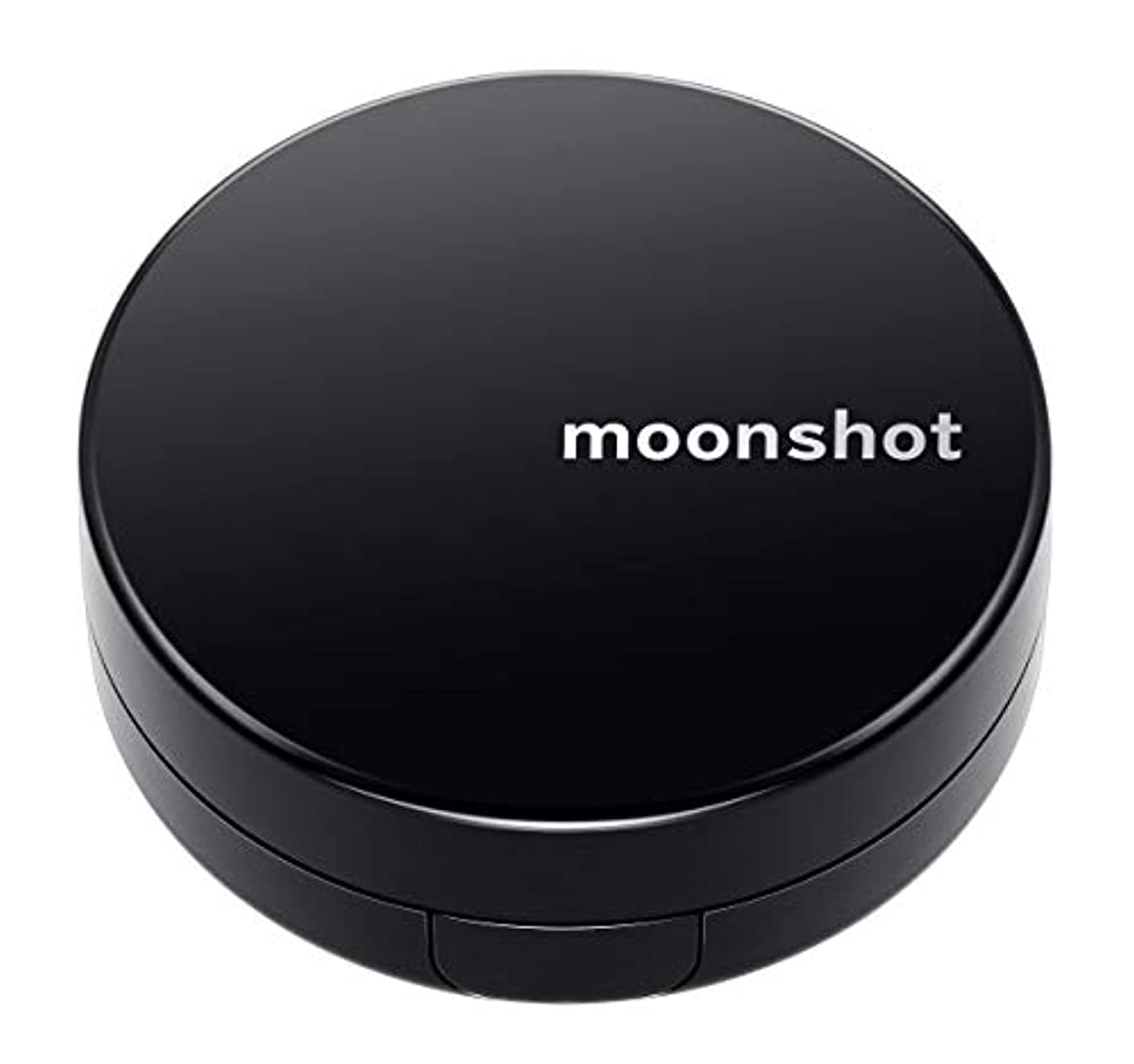 フクロウ説得グリップ【moonshot × blackpink】自然なスキントーンと均一なカバー力 しわ改善 美白 紫外線遮断 ムーンショット マイクロフィットクッション201/正規品