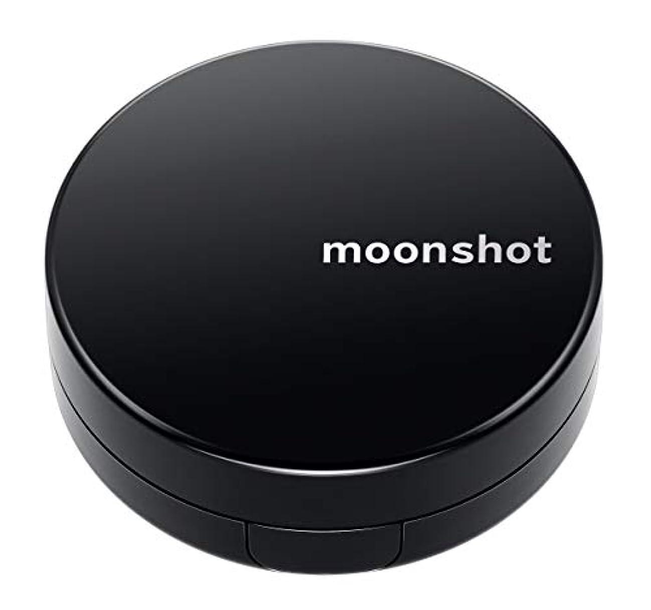 正しくペダル病気の【moonshot × blackpink】自然なスキントーンと均一なカバー力 しわ改善 美白 紫外線遮断 ムーンショット マイクロフィットクッション201/正規品