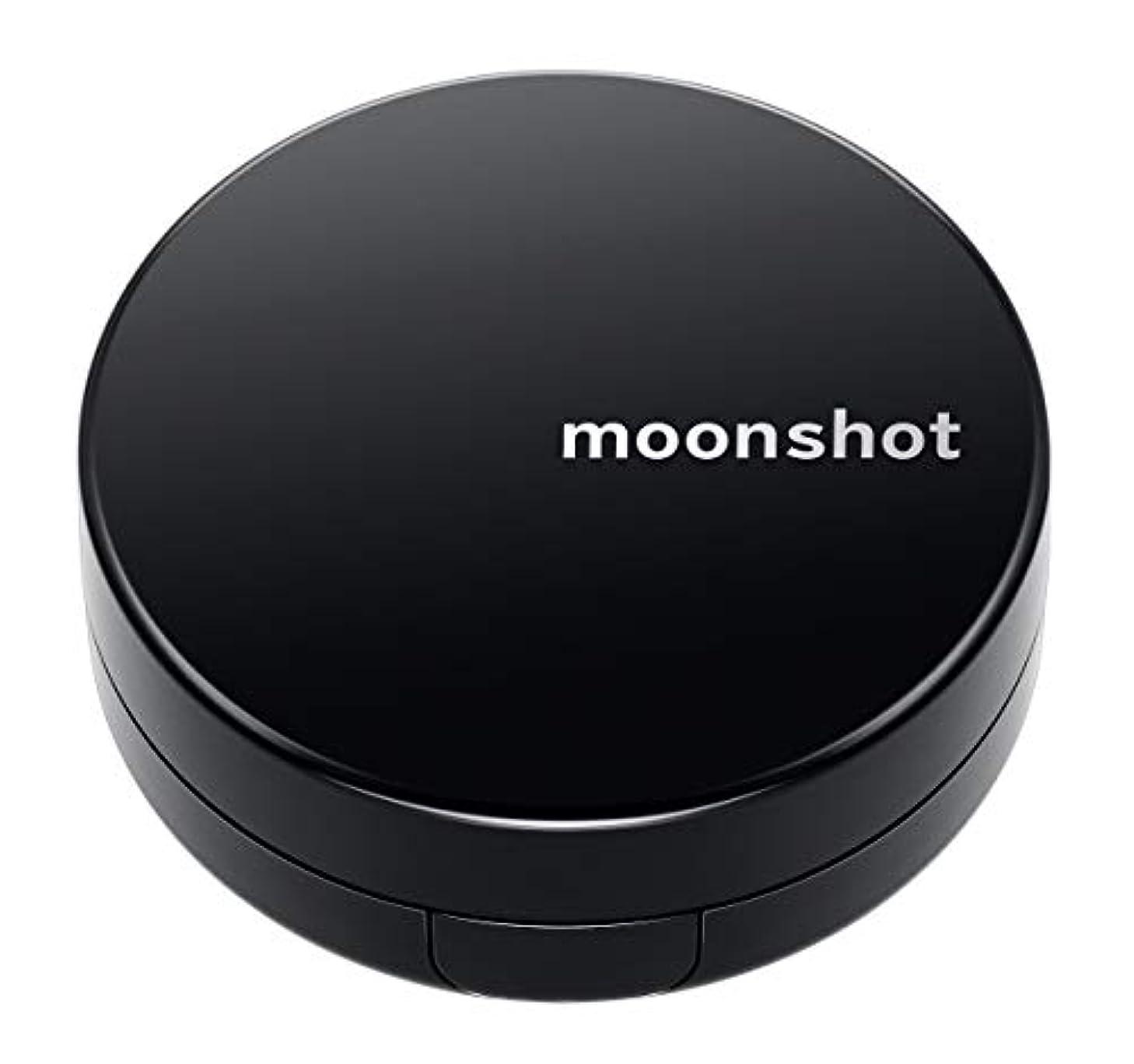 和らげるお勧め罰【moonshot × blackpink】自然なスキントーンと均一なカバー力 しわ改善 美白 紫外線遮断 ムーンショット マイクロフィットクッション201/正規品