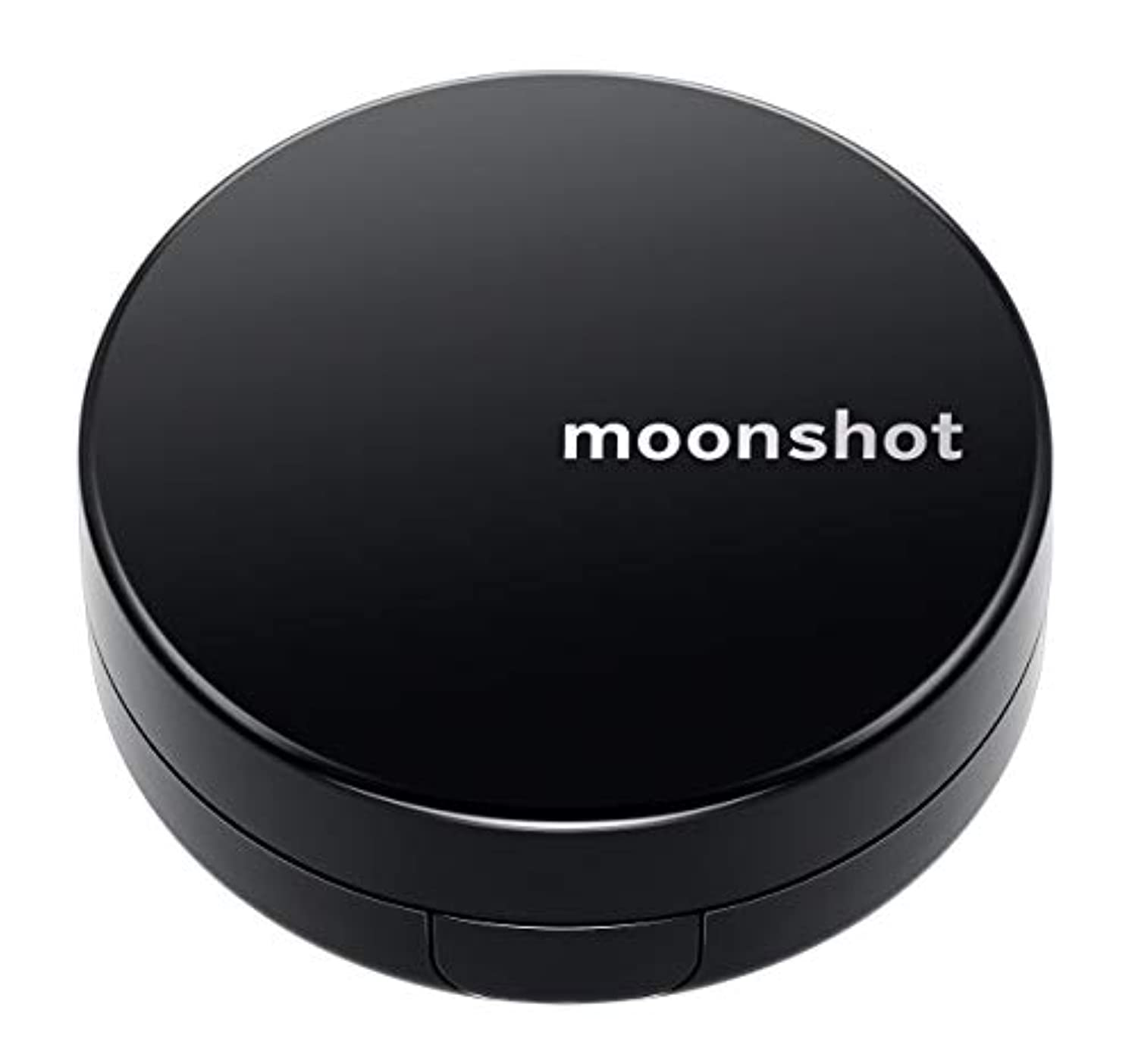 ターミナルブランド設置【moonshot × blackpink】自然なスキントーンと均一なカバー力 しわ改善 美白 紫外線遮断 ムーンショット マイクロフィットクッション201/正規品