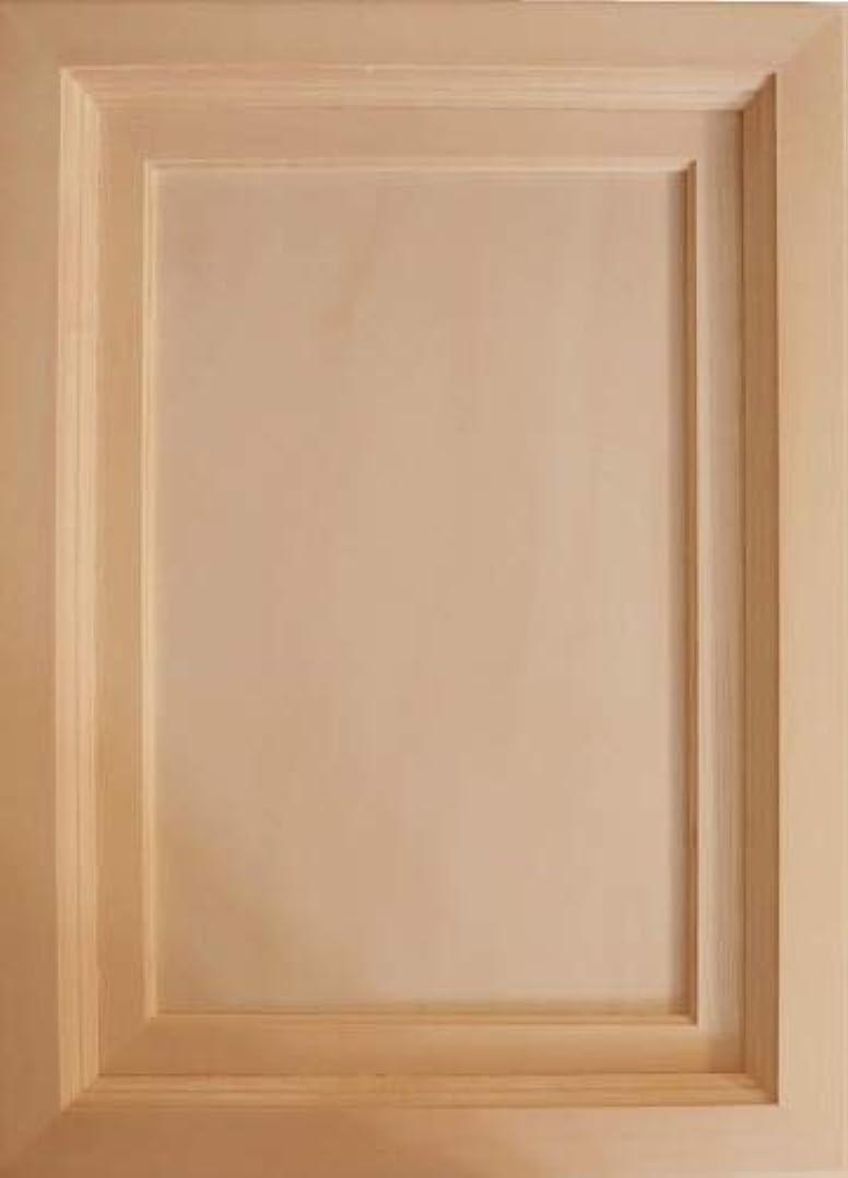 通り抜ける事業の量無塗装木製マット付額縁 4号Mサイズ 323×180 cw-1020