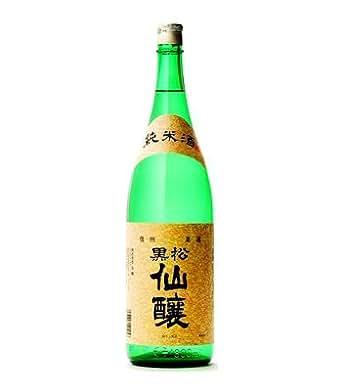 黒松仙醸 純米酒 1800ml  [ 信州・長野県の地酒 ]