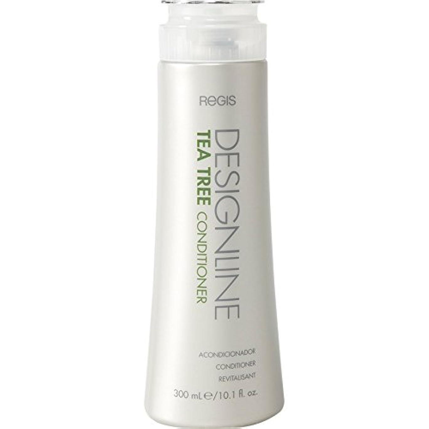 クモ騒乱常習的DESIGNLINE ティーツリーコンディショナー、Regis -栄養価の高いビタミンとミネラルを含み、髪に潤いを与え、髪と頭皮のオイルをバランスさせる シャイン、ソフトネス、および管理性 用