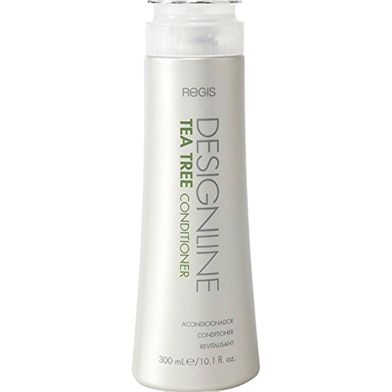 世代ベール手当DESIGNLINE ティーツリーコンディショナー、Regis -栄養価の高いビタミンとミネラルを含み、髪に潤いを与え、髪と頭皮のオイルをバランスさせる シャイン、ソフトネス、および管理性 用