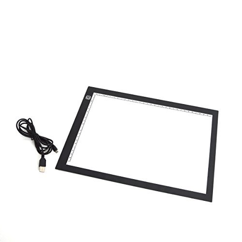 サンコー ごくうす調光USBトレース台(A4) ULEDTSA4
