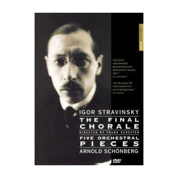 DVDドキュメント ストラヴィンスキー:The Final Chorale & シェーンベルク:FIve Orchestral PiecesのAmazonの商品頁を開く