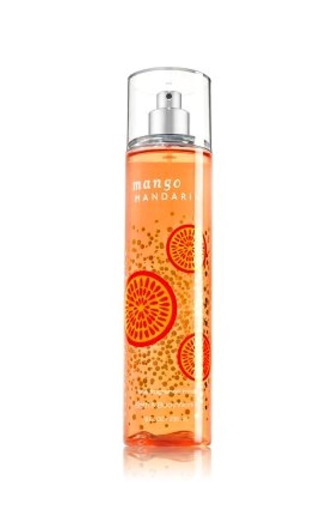 ちらつき単に詩人【Bath&Body Works/バス&ボディワークス】 ファインフレグランスミスト マンゴーマンダリン Fine Fragrance Mist Mango Mandarin 8oz (236ml) [並行輸入品]